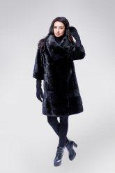 Норковая шуба 593 (черная)